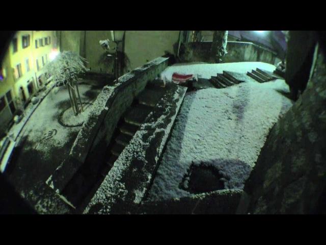 Mec il neige - Féli-d parkour