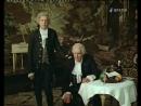 Николай Симонов и Иннокентий Смоктуновский в спектакле «Маленькие трагедии» «2 часть Моцарт и Сальери» 1971