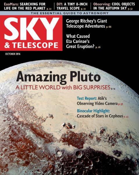 Sky & Telescope - October 2016