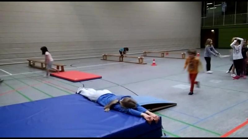 Линас гимнастика видео