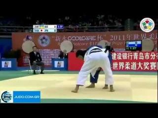 Judo Grand Prix Qingdao 2011 Final -60kg ZANTARAIA (UKR)-TAKATO Naohisa (JPN)