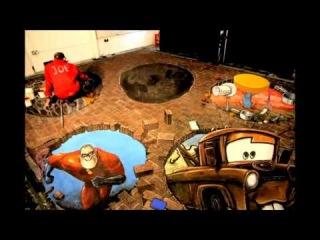 Kinect Rush: A Disney Pixar Adventure - 3D картина в Ковент-Гардене