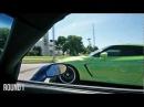 Nissan Green GT-R VS Shevrolet Corvette ZO6