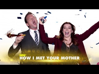 CBS Comedies Monday 1/14 Promo - How I Met Your Mother, The Big Bang Theory, 2 Broke Girls (HD)