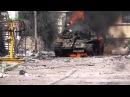 Подорванный Т-55МВ в Дарайя, Дамаск 08.03.2013