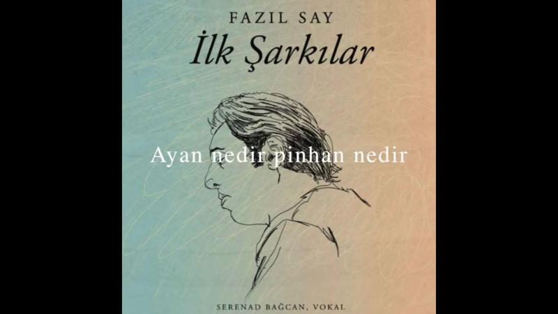 Fazıl Say insan insan Muhyİddİn Abdal Lyric Official audio adamüzik