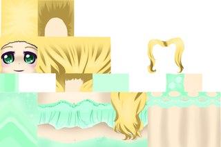 скины на майнкрафт аниме девушки #5
