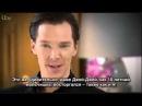 Benedict Cumberbatch interviewed on ITV's Daybreak Rus Sub 2