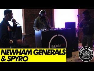 Spyro & Newham Generals - GetDarkerTV #270 [Born & Bred Warm-Up]