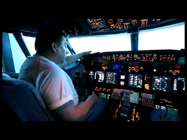 Летчик Лёха о полете на самолете Боинг 737NG