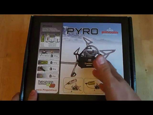 Pinguin PYRO Обзор мультитопливной горелки unpacking