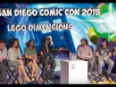 San Diego Comic Con 2015 Doctor Who crew get wibbly wobbly blocky wocky in LEGO Dimensions