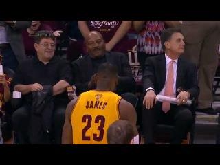 LeBron James Pays Tribute to Jim Brown Pregame