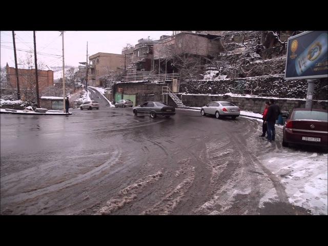 BMW e34 Drift Erevan