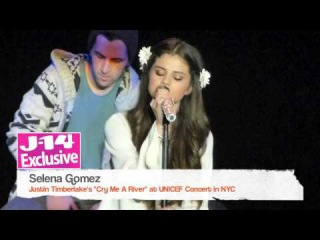 """J-14 Exclusive Video: Selena Gomez Performs """"Cry Me A River"""" (Full Song)"""