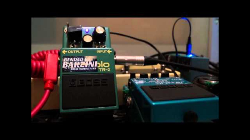 Boss TR-2 Plus bended by BARZINI part 2