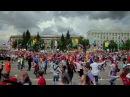 Флэшмоб по-русски - 2. СИБИРСКИЙ ХОРОВОД Russian style flash mob from Siberia