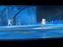 Снежный Король, Герда и Кай. Евгений Плющенко, Ирина Слуцкая и Никита Михайлов Снежный Король Сочи