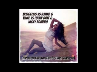 Borgeous vs R3hab & Vinal vs Lucky Date & Nicky Romero - This is Fucking Wildfire (D-Frost Mash-Up)