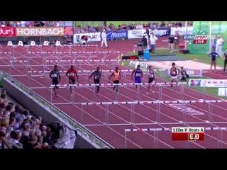 110mH in Luzern 2015 Jason Richardson  wins