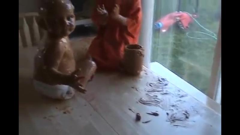 Ребенок Застукал Голую Мать