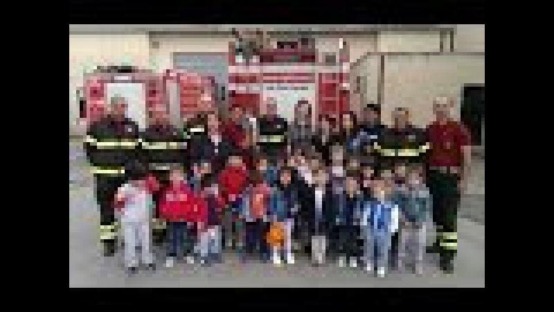 Siderno gli scolari visitano la caserma dei Vigili del Fuoco by EL