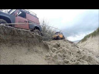 RC путешествие на Land Rover and Jeep