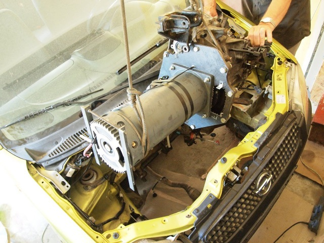 Opel Agila Electric Conversion 20Kw part 2 Homemade controller