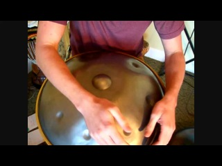 Handpan How To - Butterfly Technique