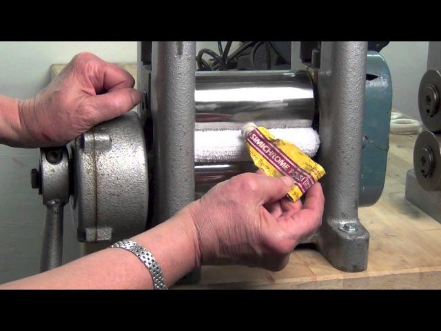 Ronda Coryell Polishing rolling mill tip