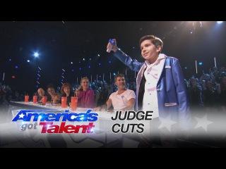 Kadan Bart Rockett: 10 Year-Old Magician's Got Magic in Him - America's Got Talent 2016