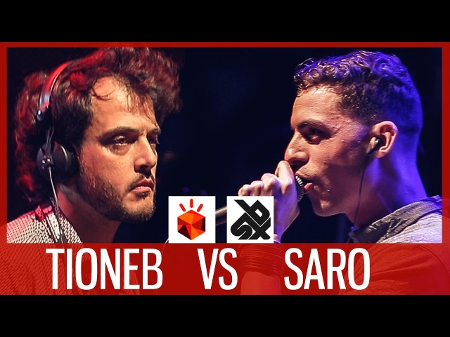TIONEB vs SARO Grand Beatbox LOOPSTATION Battle 2017 FINAL момент 8 55 хахаах красава