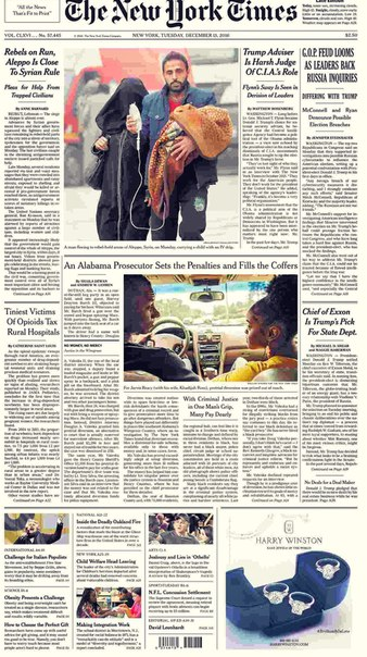 The New York Times  December 13 2016