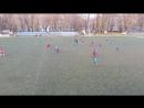 U13 1 тайм ДВУФК Днер 2004г р в голубой форме