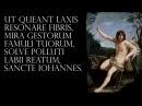 Claudio Monteverdi - Ut queant laxis - Hymnus in Ioannem
