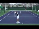 Замедленный повтор подачи в большом теннисе