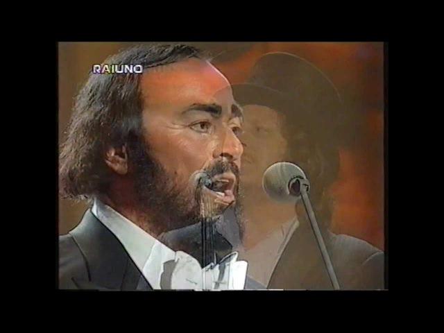 Luciano Pavarotti e Zucchero in Va pensiero Live