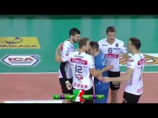 Gli highlights di Cucine Lube BM Civitanova - Tonazzo Padova 3-2