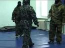 Тренировка Спецназа в спортзале на камеру