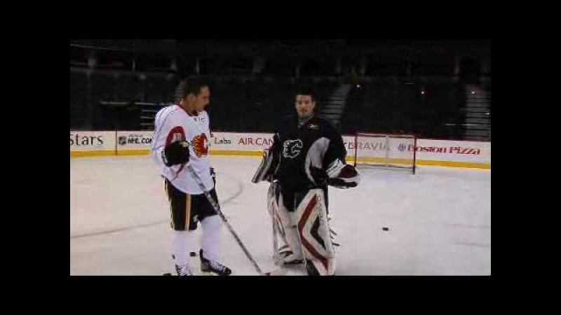 How to perfect the wrist shot with NHL star Mike Cammalleri Wonder How To
