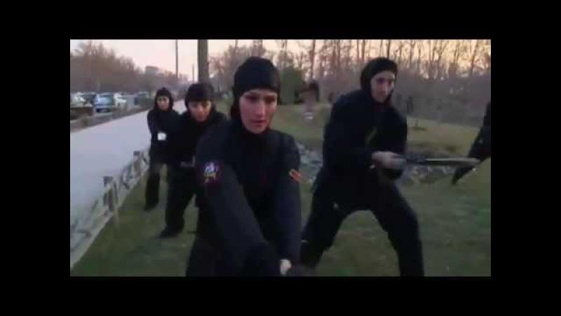 Иран 3000 наемных убийц женщин ниндзя