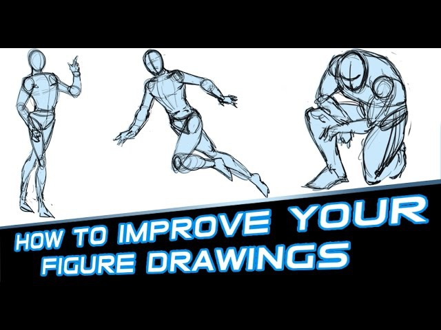 How to Improve Your Figure Drawings - Tutorial
