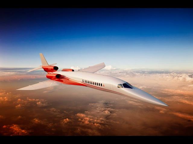 Aerion к 2021 году построит первый сверхзвуковой частный самолет