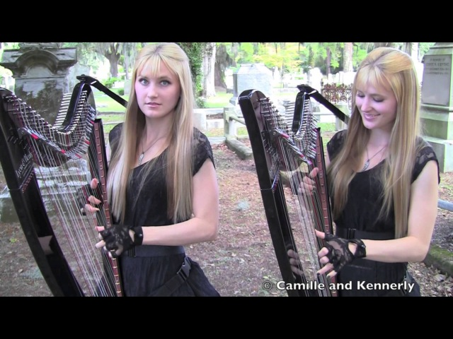 PAINT IT BLACK The ROLLING STONES Harp Twins Camille and Kennerly HARP ROCK