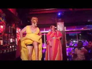 Lady Galore and Bojana Stamenov perform Beauty never lies