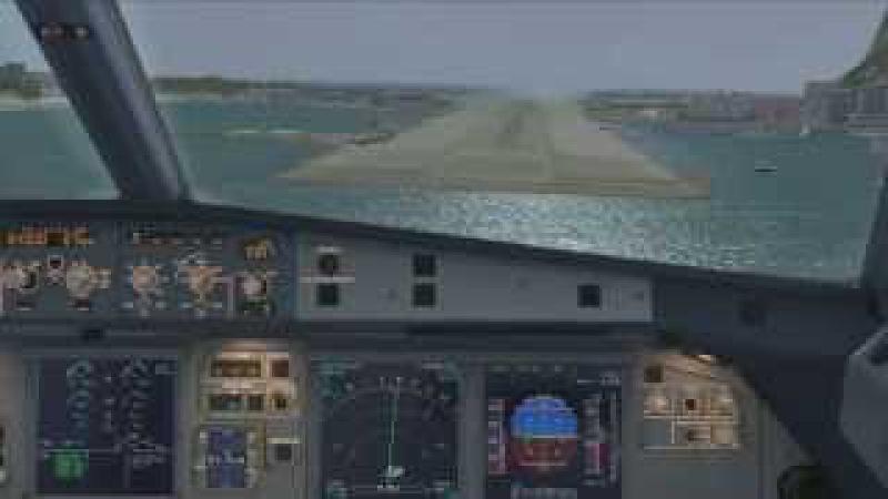 WORLDS HARDEST APPROACH 5 GIBRALTAR LXGB LANDING AEROSOFT AIRBUS X