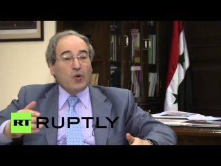 Сирия: Заместитель Министра Иностранных Мекдад хвалил Российские удары против боевиков в Сирии.
