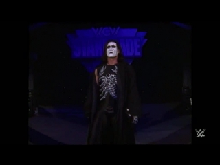 [#My1] Sting makes an unforgettable ring entrance: WCW Starrcade 1997