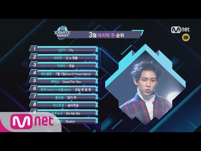 What are the TOP 10 Songs in final week of March? [M COUNTDOWN] 160331 EP.467