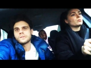 Дмитрий Ендальцев, Евгения Розанова и Иван Макаревич by Instagram